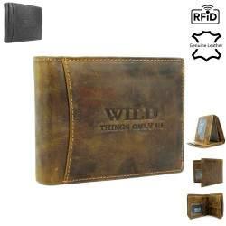 Vyriška odinė piniginė WILD 5501