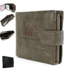 Vyriška odinė piniginė WILD 1142