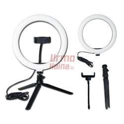 Žiedinė LED lempa LS20 | Makiažo lempa