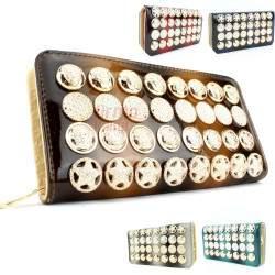 Moteriška odinė piniginė MP F012