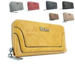 Moteriška odinė piniginė ESLEE 6232