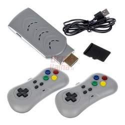 USB žaidimų priedėlis 200 in 1 su belaidžiais pulteliais