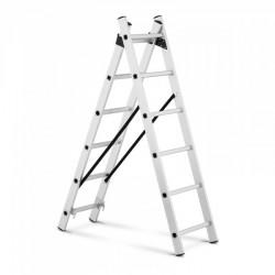 Aliuminio kopėčios - 2,54 m aukštis - 12 laiptelių