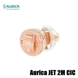 Įkanalinis skaitmeninis klausos aparatas Aurica JET 2M CIC