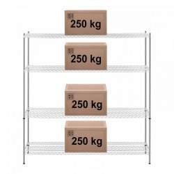 Metalinė sandėliavimo lentyna 180x60x180 cm RCMR-1800P32