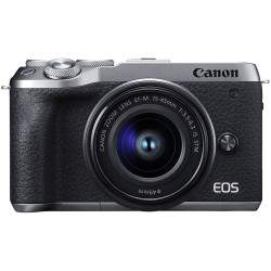 Canon EOS M6 Mark II + 15-45mm IS STM (Silver)