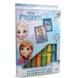 """Spalvoto smėlio rinkinys """"Frozen ir Olofas"""""""