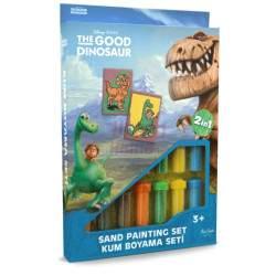 """Spalvoto smėlio rinkinys """"Dinozaurai"""""""