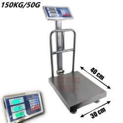 Platforminės svarstyklės 1505ASFM (150 kg, 30x40)