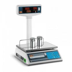 Svarstyklės TEL003B1D - u kalibracijos sertifikatu   3 kg / 1 g