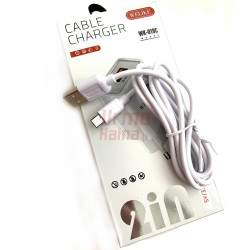 Įkroviklis WK19CA su Micro USB laidu