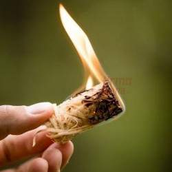 KamadoClub Susuktos medienos vilnos įdegtukai FIRELIGHTERS