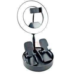 Žiedinė LED lempa LS21 3in1 30W