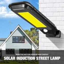 Gatvės šviestuvas SL100 su saulės baterija