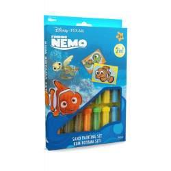 """Spalvoto smėlio rinkinys """"Žuviukas Nemo"""""""