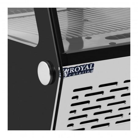 Vitrininis šaldytuvas Royal Catering RCCC-120-S