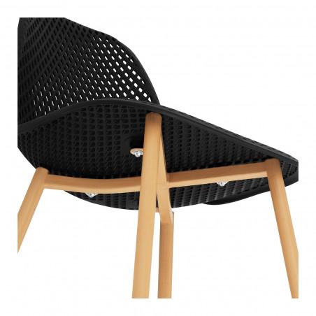 Kėdės 52x46,5 cm - juodos - STAR_SEAT_05