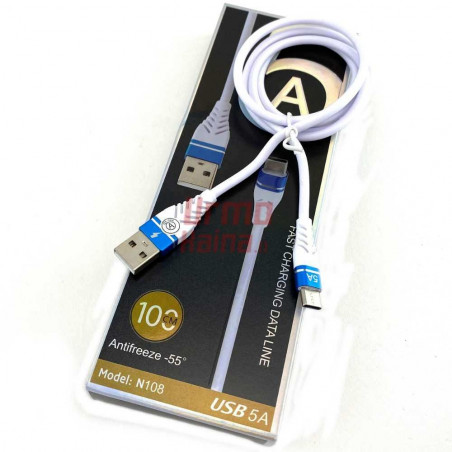USB laidas TLC 08 Type-C 5A