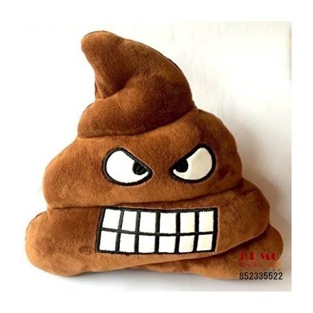 "Emoji pagalvė ""Poop laugh"""