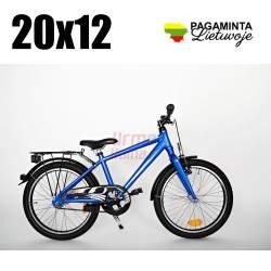 Baltik vairas, Vaikiškas dviratis 20x12, Active-blue