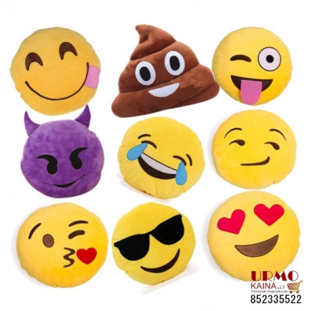 "Emoji pagalvė ""Happy tears"""