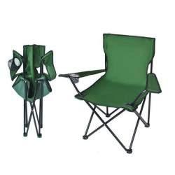 Sulankstoma turistinė kėdė M881, žalia