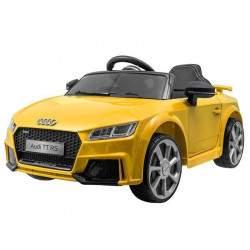 "Vaikiškas vienvietis elektromobilis ""AUDI TT ROADSTER"", geltonas"