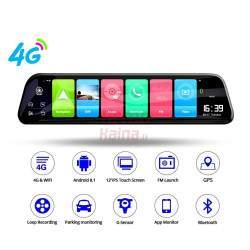 Vaizdo registratorius M76K Android su galinio vaizdo kamera