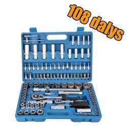 Įrankių galvučių rinkinys Best Tools 108 dalių