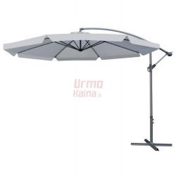 Lauko skėtis Malatec, 300 cm, tamsiai pilkas