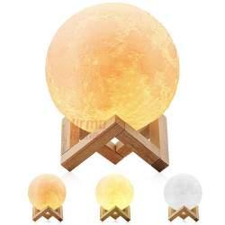 3D šviečiantis mėnulis S