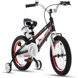 """Vaikiškas dviratis Royal Baby Space 14"""". juodas"""