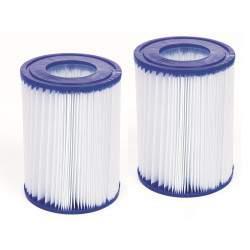 Pakeičiamos vandens filtro kasetės II tipo siurbliui Bestway 2 vnt.
