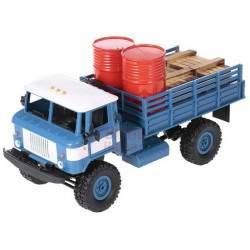 RC mašinėlė su pultu Army Truck WPL B-24 1:16
