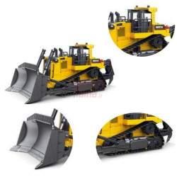 RC buldozeris su pultu H-Toys 1:24 9CH 2.4GHz