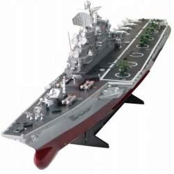 Radijo bangomis valdomas laivas USS Wasp 1:350 2.4GHz RTR