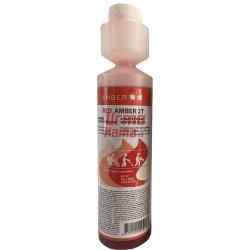 Alyva raudona 2T AMBER 250 ml su dozatoriumi