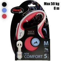Automatinis pavadėlis Flexi New Comfort Strap M 5 m
