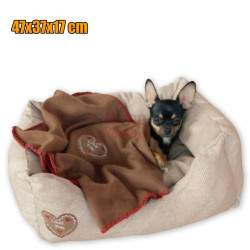 Šuns gultas Snugly Love You M