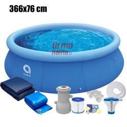 Pripučiamas baseinas Avenli 366x76 cm