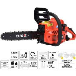 Benzininis grandininis pjūklas YATO 84895 1,3 kW