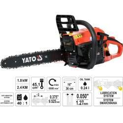 Benzininis grandininis pjūklas YATO 84901 1,8 kW