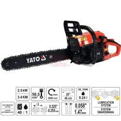 Benzininis grandininis pjūklas YATO 84910 2,5 kW