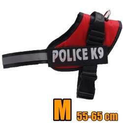 Petnešos šunims K9 M 55-66CM RD