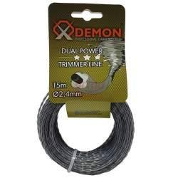 Žoliapjovės pjovimo lynas Demon 2.4 mm x 15 m