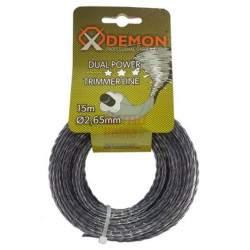 Žoliapjovės pjovimo lynas Demon 2.65 mm x 15 m