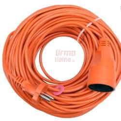 Prailginimo kabelis su lizdu Vorel 2x1 mm² 20 m