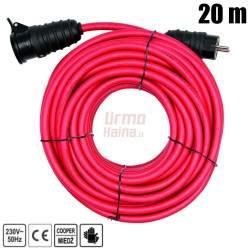 Prailginimo kabelis Yato 3x2,5 mm² (3G2,5 mm) 20 m