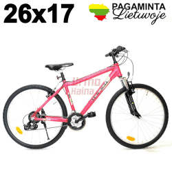 "Kalnų dviratis 26"", R43 T21, Hibiscus Red"