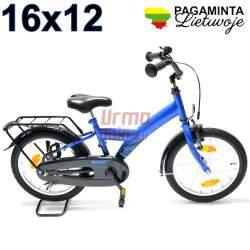 Vaikiškas dviratis, 16 x 12, Active blue